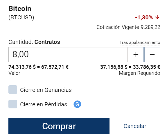 Comprar Bitcoin Plus500