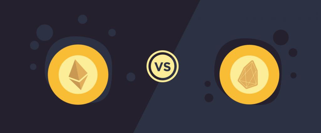 EOS versus Ethereum