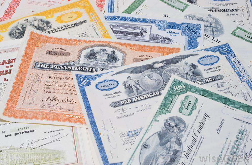 Como comprar acciones - papel