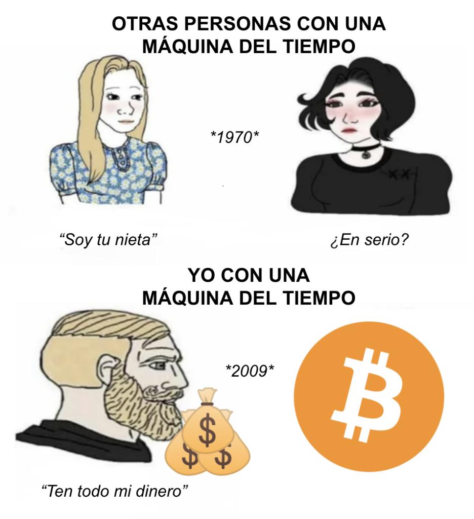 Cómo invertir en Bitcoin meme