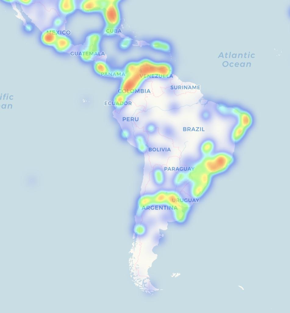 Usar Bitcoins en Latinoamérica - CoinMap