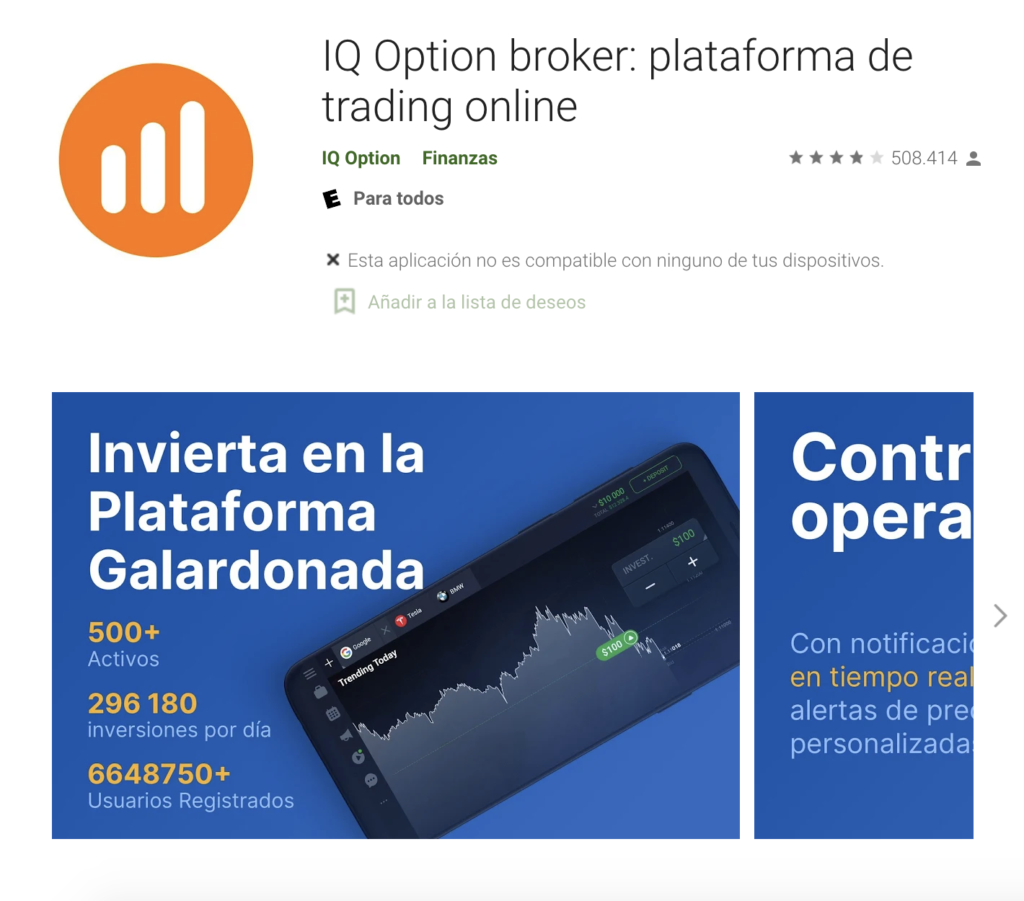 Play Store IQOption