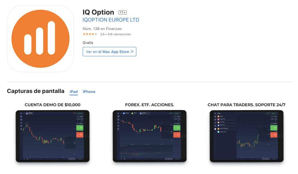 IQOption Appstore