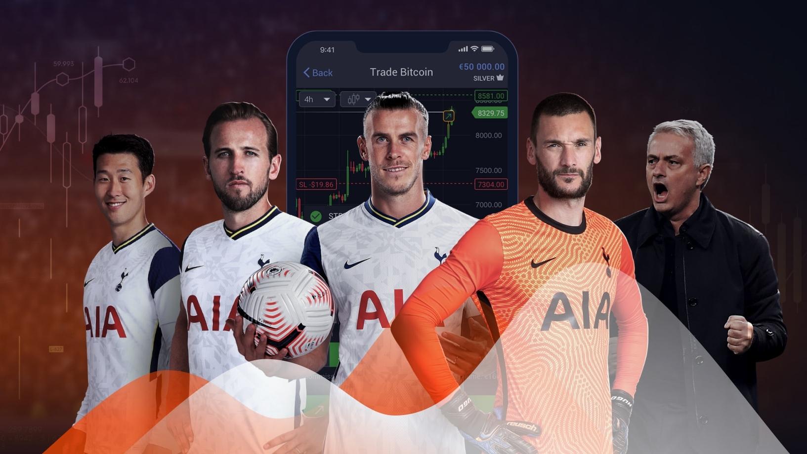 Auspicio Libertex Tottenham FC