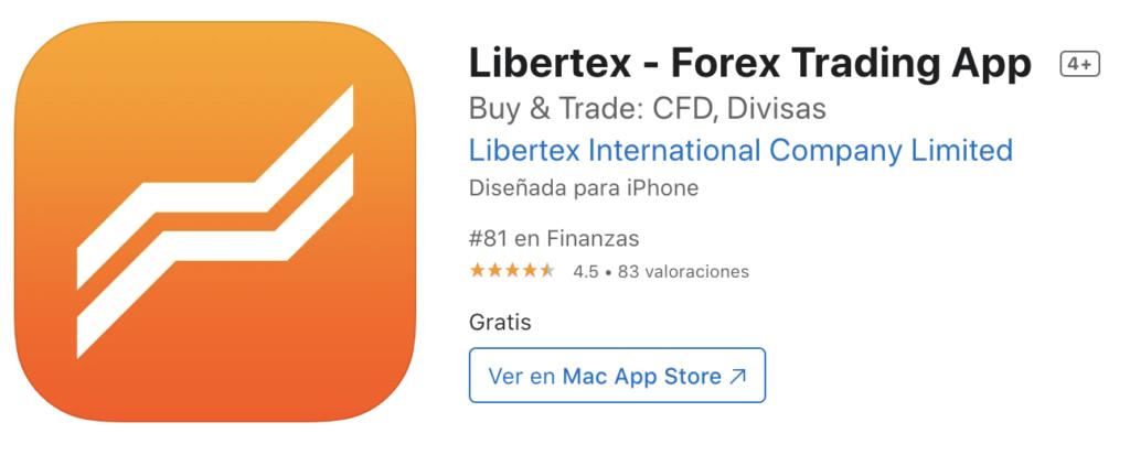 Libertex App Appstore iOS