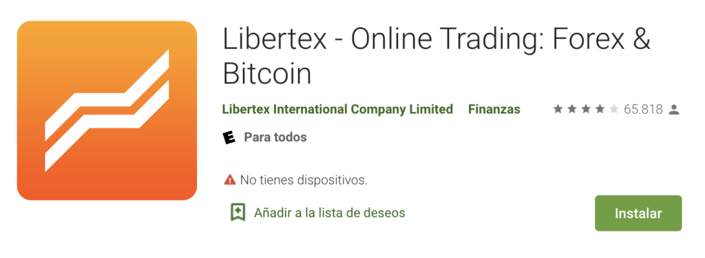 Libertex App Play Store Android
